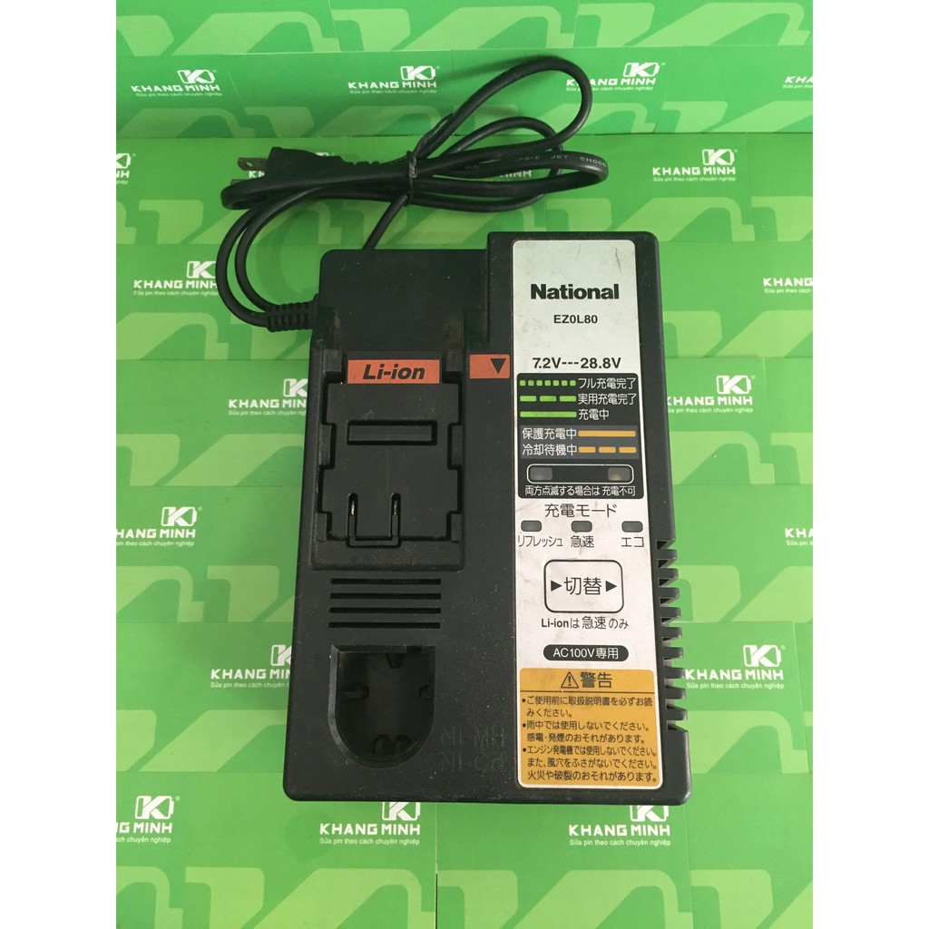 KM Sạc pin Panasonic / National 7.2V - 28.8V EZ0L80, chuyên sạc pin máy Panasonic / National. - 2923073 , 574067429 , 322_574067429 , 890000 , KM-Sac-pin-Panasonic--National-7.2V-28.8V-EZ0L80-chuyen-sac-pin-may-Panasonic--National.-322_574067429 , shopee.vn , KM Sạc pin Panasonic / National 7.2V - 28.8V EZ0L80, chuyên sạc pin máy Panasonic / Na