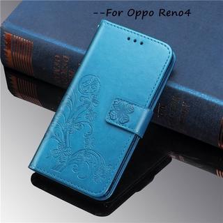 Bao Da Thời Trang Cao Cấp Cho Oppo Reno4 5g