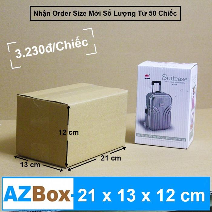 21x13x12 - Bộ 20 Hộp Carton AZBOX Shopee Mall (Giảm Phí Ship Đơn > 99k) AZ006
