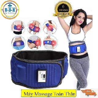 [ FLASH SALE ] Đai massage đánh tan mỡ bụng, đai massage giảm béo X5 – Sunny House