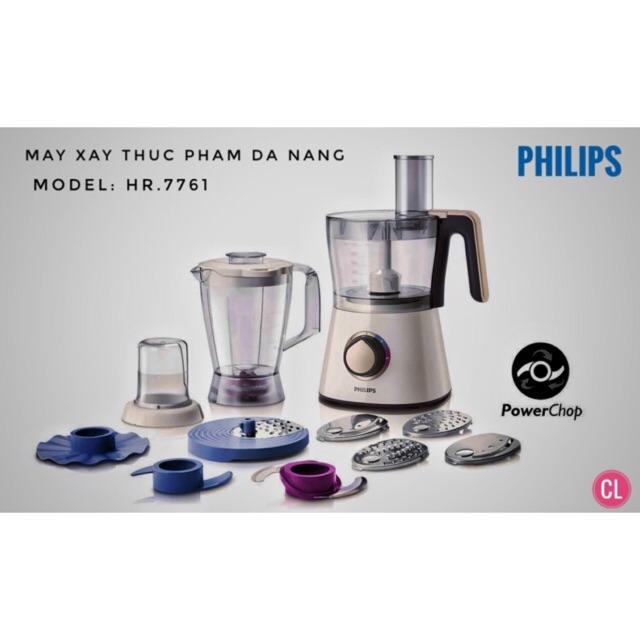 Máy xay đa năng Philips HR7761 - Hàng chính hãng - 3095376 , 986425753 , 322_986425753 , 2450000 , May-xay-da-nang-Philips-HR7761-Hang-chinh-hang-322_986425753 , shopee.vn , Máy xay đa năng Philips HR7761 - Hàng chính hãng