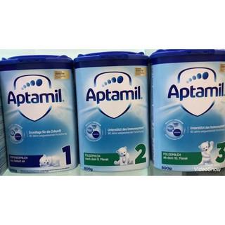 Sữa Aptamil nutricia Đức 800g đủ số 1,2,3