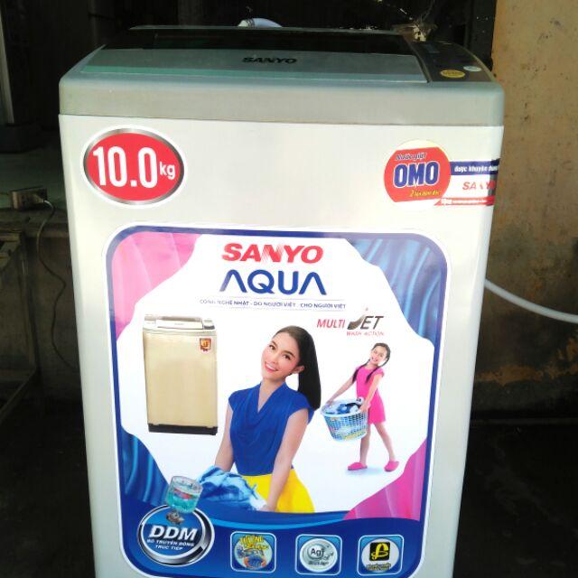 [ELPHATLOC giảm 8% tối đa 2TR] Máy giặt sanyo 10kg .mới 96%