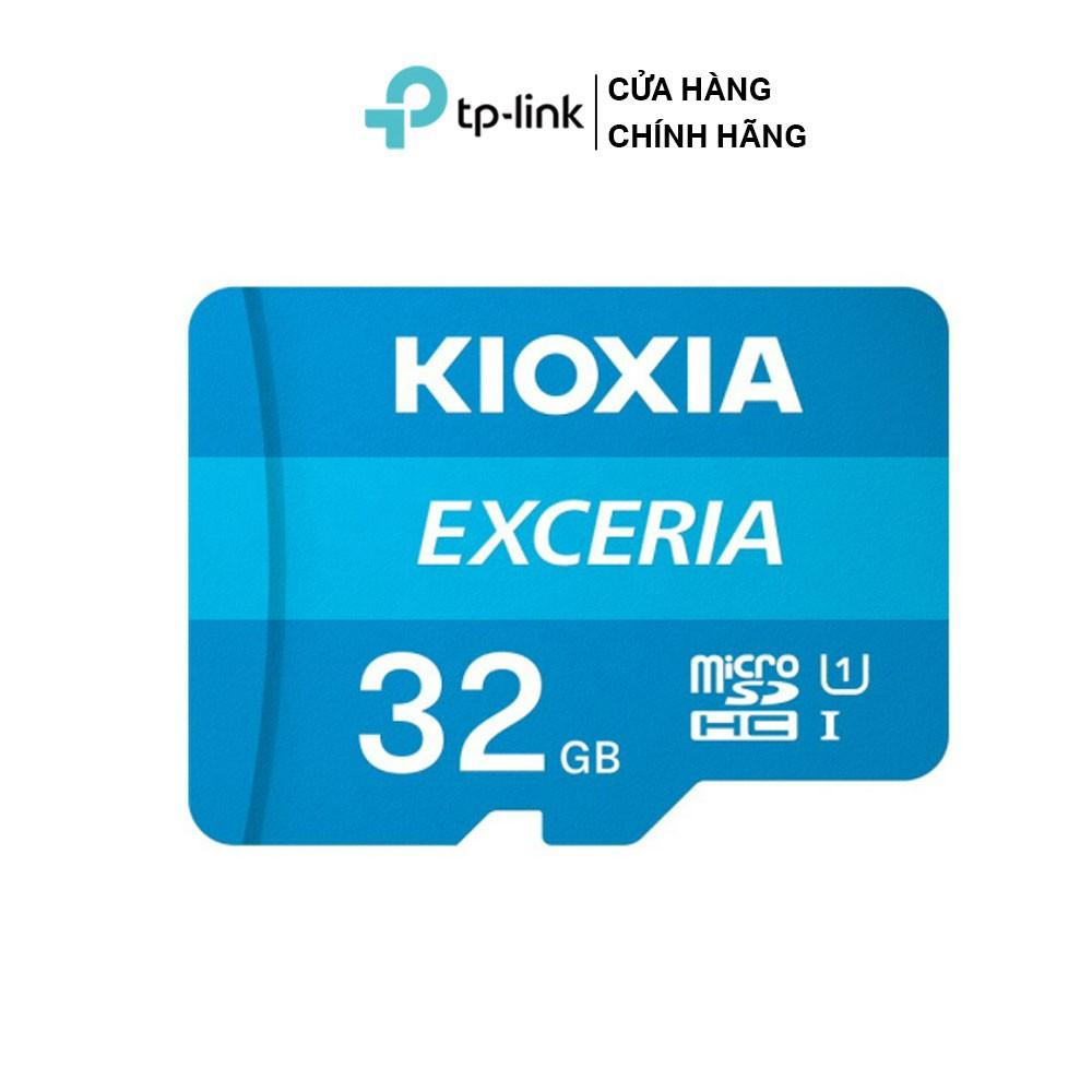[Hàng tặng không bán] Thẻ nhớ microSD Kioxia 32GB sử dụng cho camera, máy quay phim Exceria C10 U1