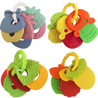 Set đồ chơi lắc tay hình trái cây cho bé chất lượng cao