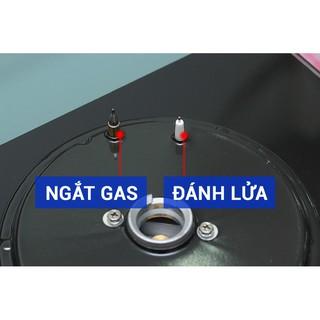 Hình ảnh Bếp gas âm Rinnai RVB-212BG – Ngắt gas tự động – Đánh lửa IC - màu đen.-5