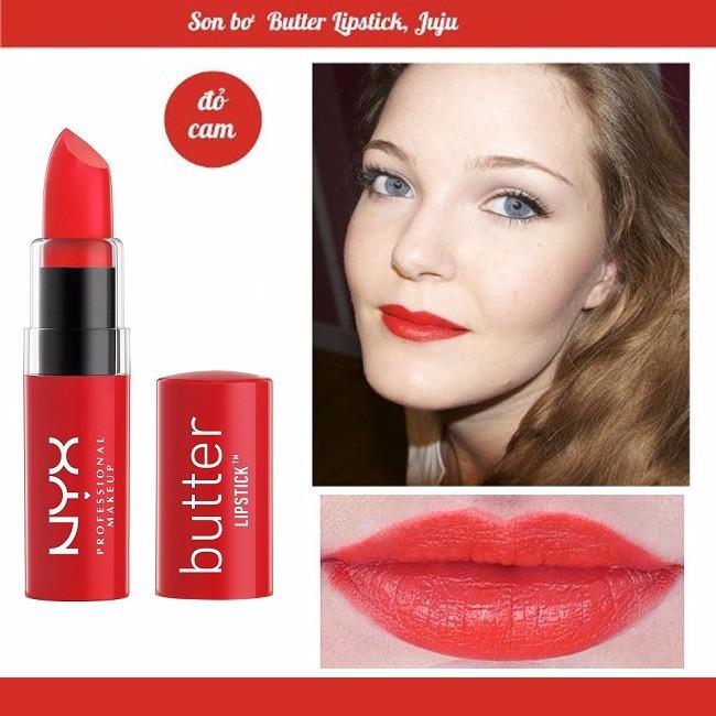 Son bơ NYX Butter Lipstick Little JuJu BLS15