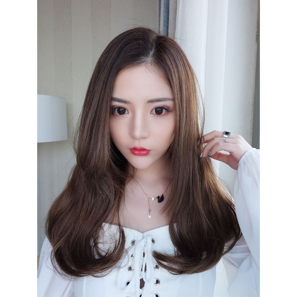 Overseas shipping wig female long hair long curly hair big wave net red cute cla