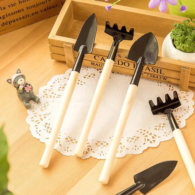 Bộ 3 dụng cụ làm vườn mini