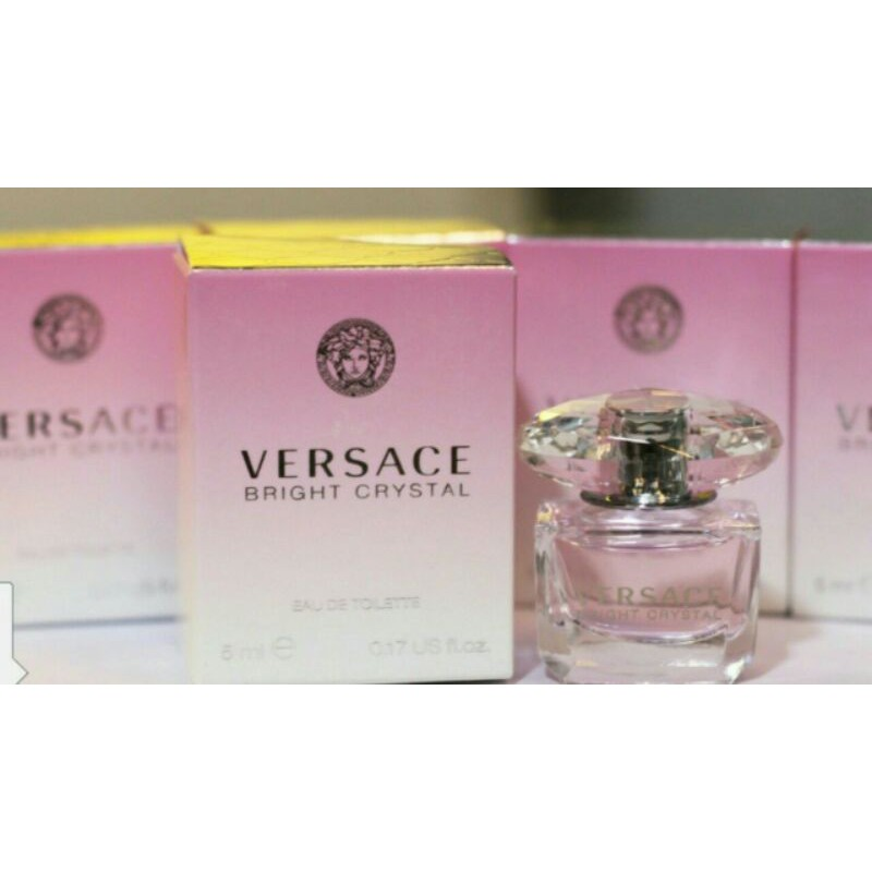 Nước hoa versace bright crystal 5ml mini