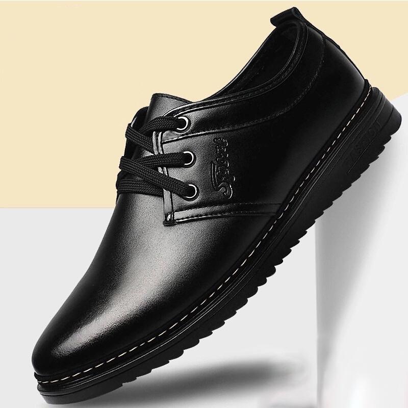 ฤดูใบไม้ร่วงใหม่รองเท้าชุดธุรกิจของผู้ชายรองเท้าลำลองผู้ชายเท้าขี้เกียจรองเท้ารองเท้า Peas อังกฤษรองเท้าน้ำ