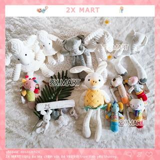 Thú nhồi bông Cừu bông, voi xám, thỏ trắng, thú chíp - Thú bông đáng yêu cho bé dùng thay gối ôm cùng bé ngủ - 2X MART thumbnail