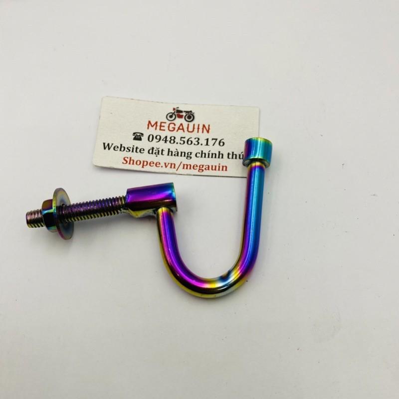 Móc câu inox / titan 7 màu treo đồ xe máy (Giá 1 cái)