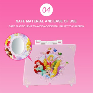 💞BULA Disney Princess style 53-piece cosmetic cosmetic bag for girls
