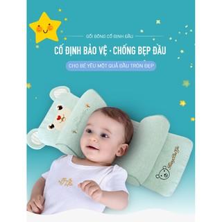 Gối định hình, chống bẹt đầu cho bé hình chữ nhật, có thể điều chỉnh theo kích thước đầu bé