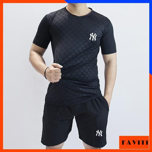Quần áo thể thao nam mùa hè tập gym thun lạnh BTT10