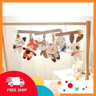 FreeShip] [Xả Hàng] Thỏ Cà Rốt – Thú nhồi bông dễ thương – Quà tặng đặc biệt cho bé – Đồ trang trí phòng bé