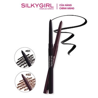 Chì kẻ mắt Silkygirl Long-Wearing Eyeliner-[Cocolux] thumbnail