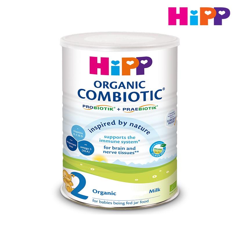 Sữa bột hữu cơ HiPP 2 Combiotic Organic 800g 2476 - 3551199 , 1199162300 , 322_1199162300 , 544000 , Sua-bot-huu-co-HiPP-2-Combiotic-Organic-800g-2476-322_1199162300 , shopee.vn , Sữa bột hữu cơ HiPP 2 Combiotic Organic 800g 2476