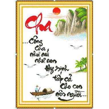 Tranh thêu chữ thập chưa thêu Công Cha Như Núi Như Non, Hy Sinh Tất Cả Cho Con Nên Người 222694 - 3074149 , 389893819 , 322_389893819 , 71000 , Tranh-theu-chu-thap-chua-theu-Cong-Cha-Nhu-Nui-Nhu-Non-Hy-Sinh-Tat-Ca-Cho-Con-Nen-Nguoi-222694-322_389893819 , shopee.vn , Tranh thêu chữ thập chưa thêu Công Cha Như Núi Như Non, Hy Sinh Tất Cả Cho Con Nê