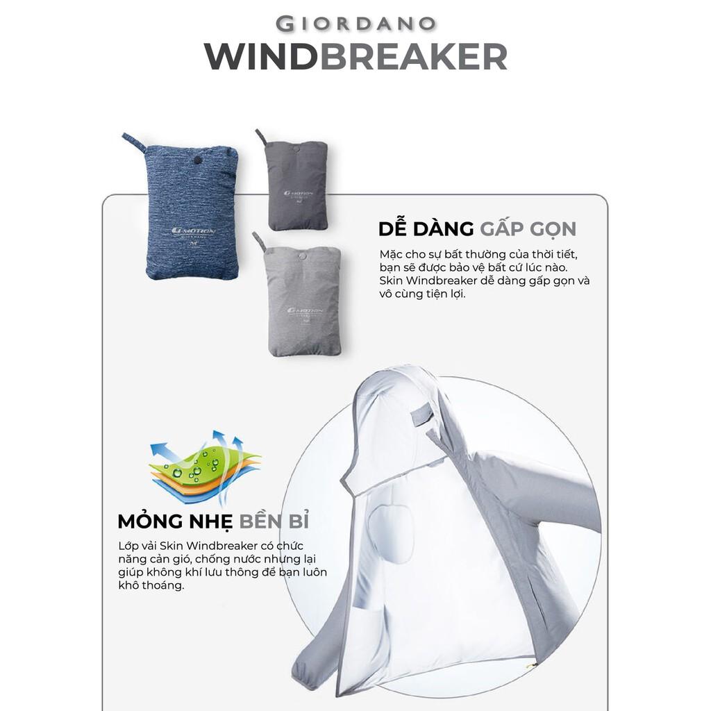 [Mã MABRGDNN giảm 10% đơn 99K] Áo Khoác Dù Nữ Giordano Windbreaker 05379007