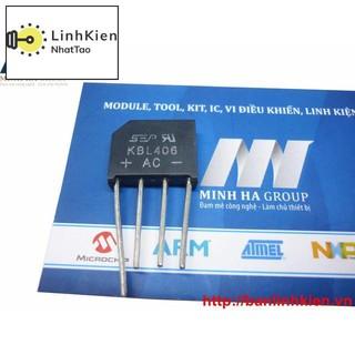 [Sale] Diode Cầu 4A 1000V KBL410 (Vuông)