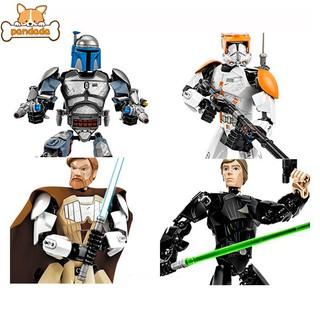 Star Wars Assembling Building Block Skeleton Robot