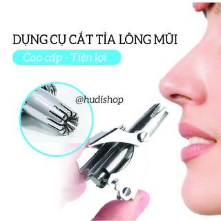 Dụng Cụ Cắt Tỉa Lông Mũi – Thép không gỉ cao cấp – Máy cắt tỉa lông mũi an toàn, tiện lợi