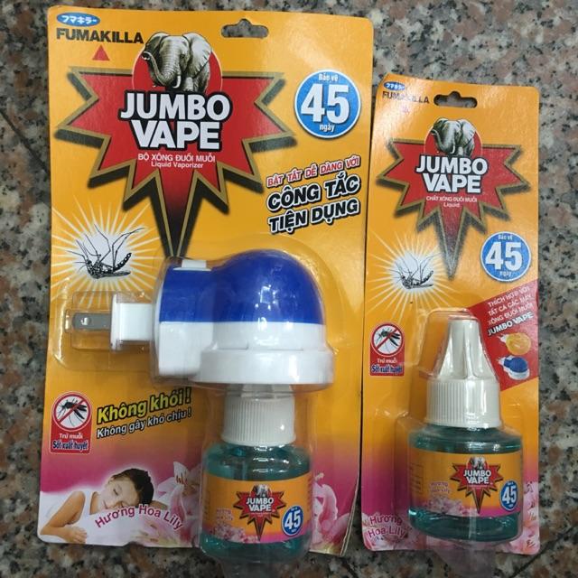 Xông đuổi muỗi Jumbo Vape - 3514605 , 1153398346 , 322_1153398346 , 29000 , Xong-duoi-muoi-Jumbo-Vape-322_1153398346 , shopee.vn , Xông đuổi muỗi Jumbo Vape