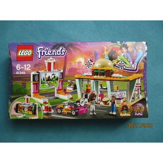 LEGO Friends 41349 Cửa Tiệm Hamburger Tốc Độ (345 chi tiết) – Đồ Chơi Lắp Ráp LEGO Chính Hãng Đan Mạch