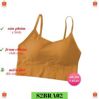Áo Ngực CBTBRA02 VNXK Áo Bra Thể Thao Chic Form To Mặc Tập Thể Dục Rất Thoải Mái Ôm Vừa Vặn Cơ Thể ( 40-65KG)