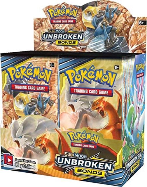 Bài Pokemon TCG Sun&Moon : Unbroken Bonds booster pack