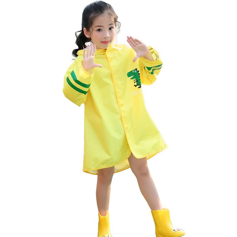 ❀▣1-3 years old children raincoat girls baby boy kindergarten transparent waterproof girl 2-6 poncho lovely