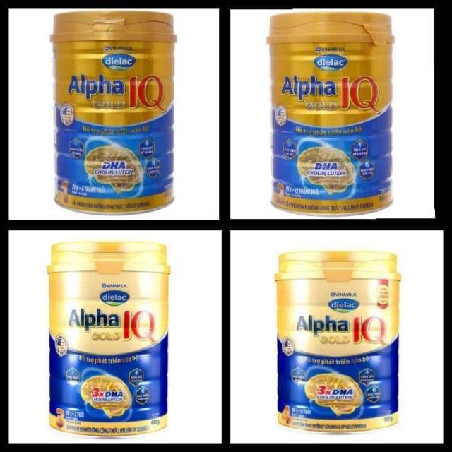 Sữa dielac alpha gold 1, 2, 3, 4 ht 900g