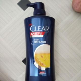 Dầu gội Clear men 650ml Beer mát lạnh 650ml