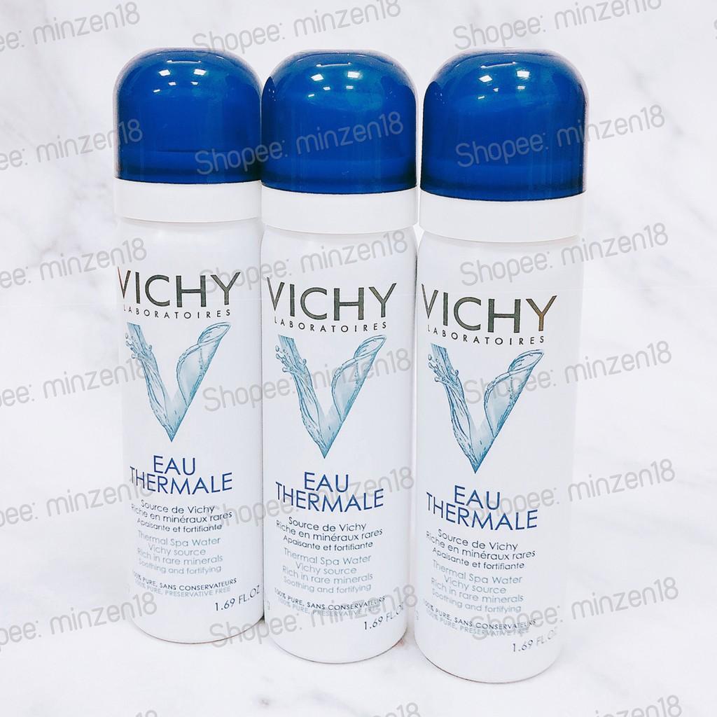 Xịt Khoáng Dưỡng Da Vichy Eau Thermale Spa Water