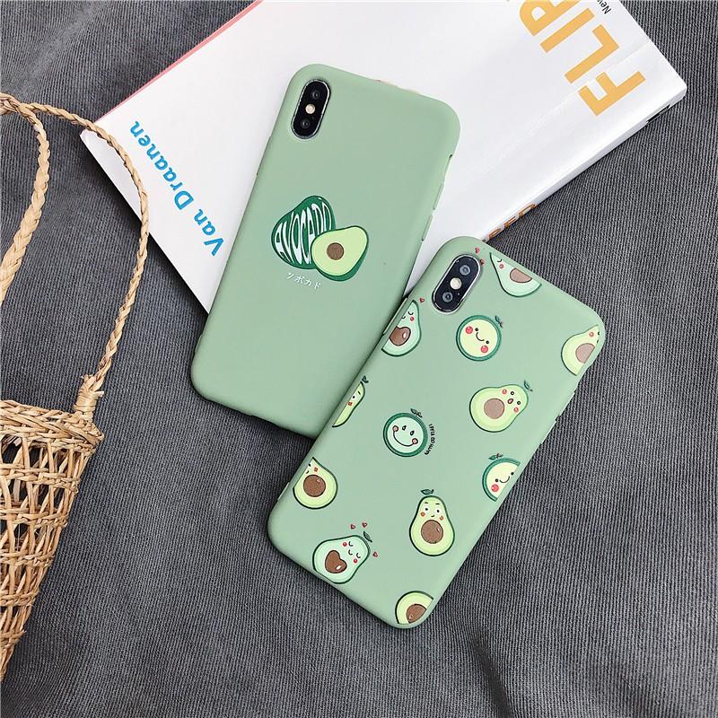 Ốp điện thoại TPU in hình hoạt họa dễ thương cho iPhone 6 6S 6+ 6S+ 7 7+ 8 8+ XS XR XSMAX