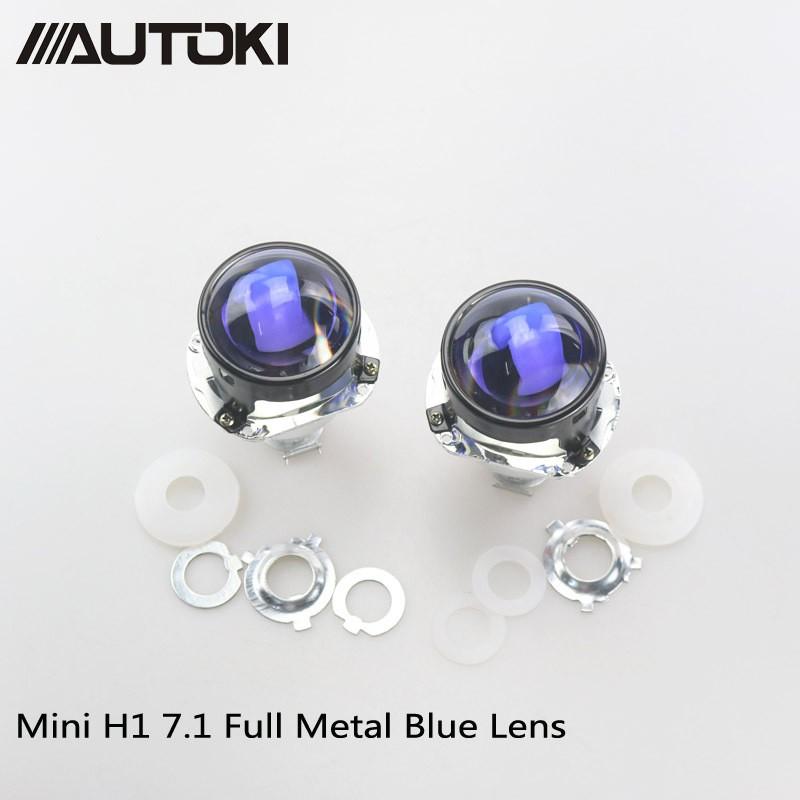 Bi cầu Mori lens blu 2.5 icnh - sử dụng bóng Chân H1