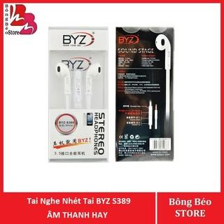 Tai Nghe Nhét Tai BYZ S389 Chính Hãng Âm Thanh Hay