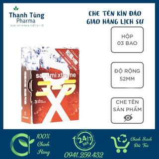 Bao cao su Sagami Cola [CHE TÊN KÍN ĐÁO] CHÍNH HÃNG - Hương Cola - Hộp 3 thumbnail