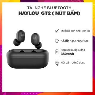 Tai nghe true wireless Haylou GT2 - New 2019 - Bluetooth 5.0 - Tai nghe không dây kết nối tương thích Android IOS