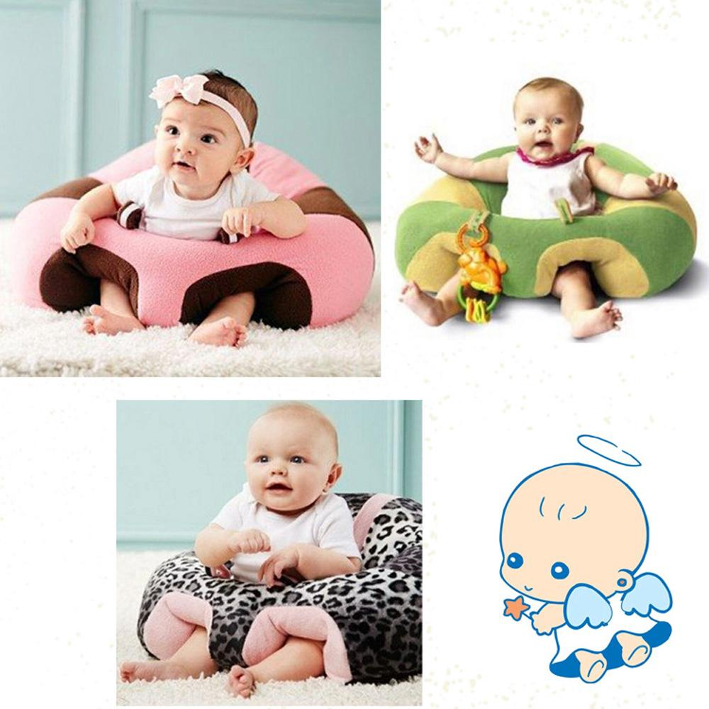 Infant Learning To Sit Soft Cotton Child Sofa Baby Safety Chair Assists Baby Gift Plush Toys