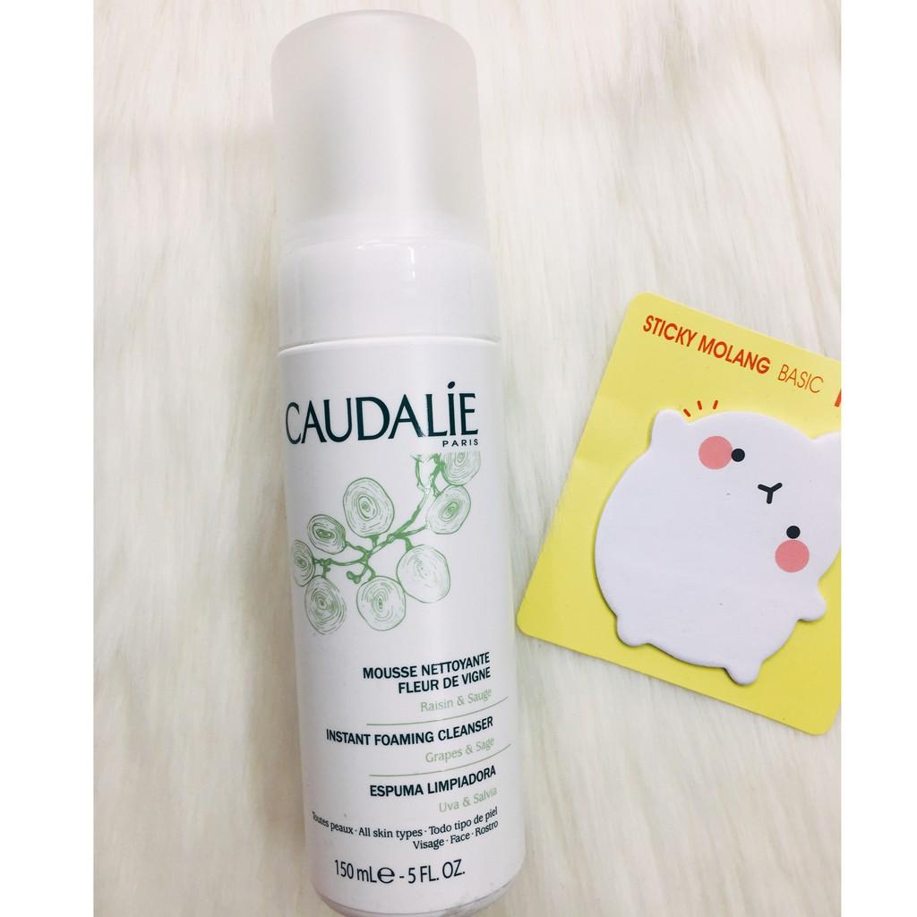 Sữa rửa mặt tạo bọt dịu nhẹ Caudalie cho da nhạy cảm 150ml