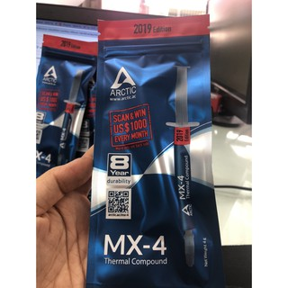 Keo tản nhiệt Ống ARCTIC MX-4 (4G) 2019 Loại Xịn - Hiệu Năng Tốt Trong Tầm Giá thumbnail