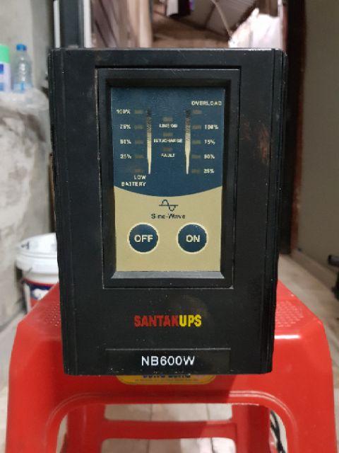 Lưu điện kích điện santakups 600W đã qua sử dụng hoạt động tốt đã test không acquy