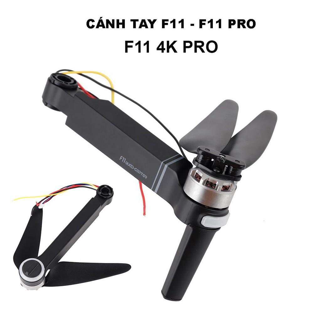 Bộ cánh tay và động cơ kèm cánh dành cho Flycam Sjrc F11. F11 Pro. F11 4K Pro - Chính hãng