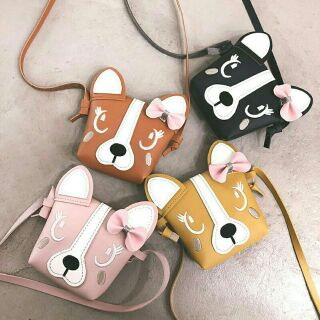 Túi đeo chéo mặt mèo