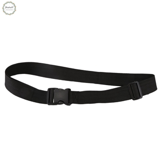 Quick Release Buckle Black Luggage Strap