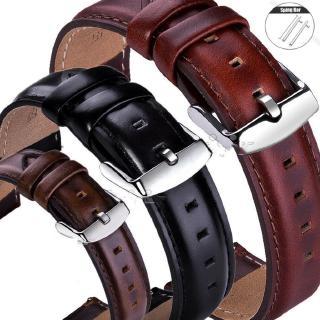 Dây đeo đồng hồ bằng da tháo lắp nhanh kích thước 18 20 22mm