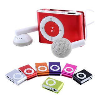 [Freeship từ 99k]Máy nghe nhạc MP3 không màn vỏ nhôm (tặng: tai nghe + cáp sạc) |shopee. Vn/botmau121